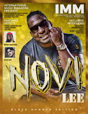 International Music Magazine - 5th Issue - Novi Lee - Block Runner Edition