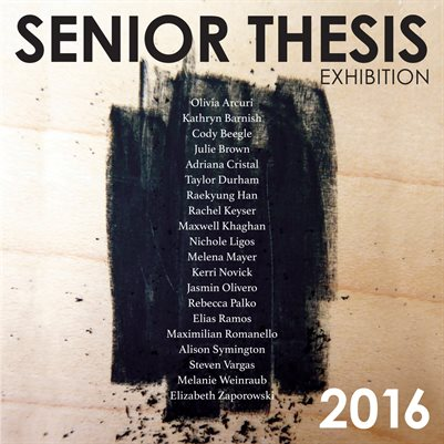 senior thesis what is it Carthage college requires all seniors to complete a senior thesis this thesis may take the form of a research project, an art exhibit, a music recital, a po.