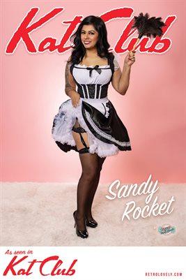 Kat Club No.19 – Sandy Rocket Cover Poster