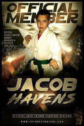 Jacob Havens Gold Diploma Poster