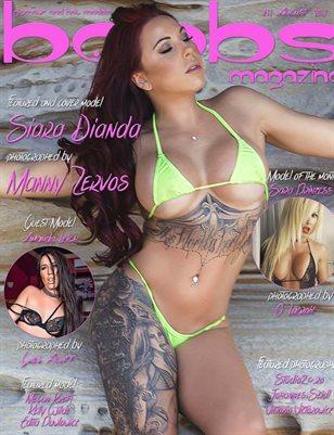 boobsmagazine issue #11 august 2017