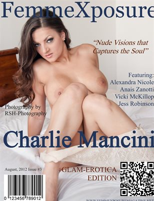 FemmeXposure® Magazine August 2012 Issue #3 Cover Model, Charlie Mancini