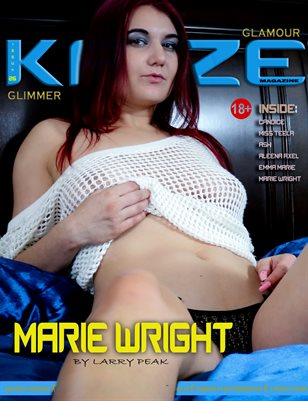 Kayze magazine issue 26 -glimmer - marie wright