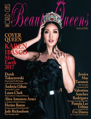 World Class Beauty Queens Magazine Issue 50 with Karen Ibasco