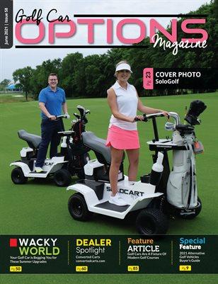 Golf Car Options Magazine - June 2021
