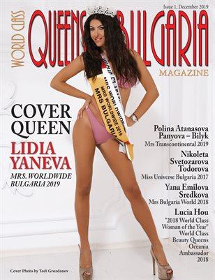 World Class Queens of Bulgaria Magazine with Lidia Yaneva