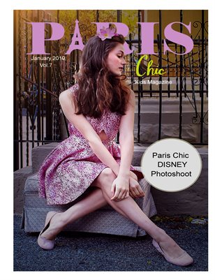 Paris Chic Kids Magazine January 7