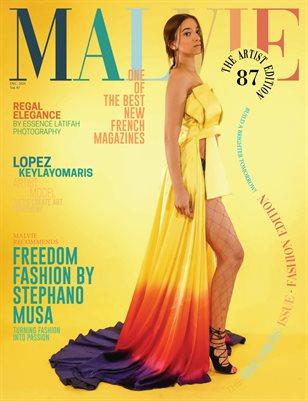 MALVIE Mag The Artist Edition Vol 87 December 2020