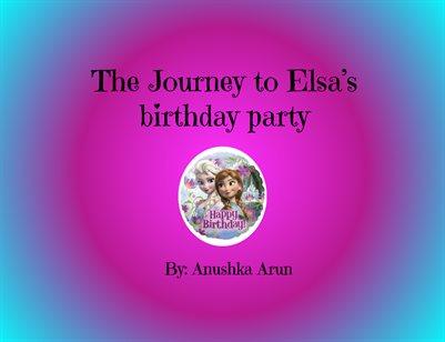 Anushka Smrithi Story Camp Elsa Anna Story