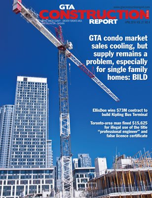 GTA Construction Report April 2018