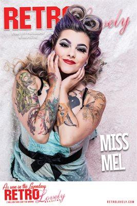 Miss Mel. Atomic City Retrospective Poster