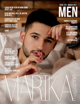 MARIKA MAGAZINE MEN (MARCH - ISSUE 723)