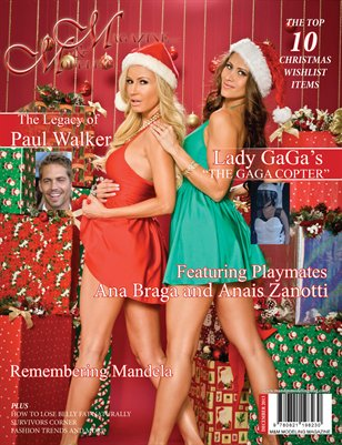 M & M Modeling Magazine 2013 Holiday Issue