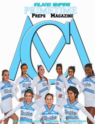 Inland Empire Prime Time Preps Magazine Montclair Cheer Edition April 2012