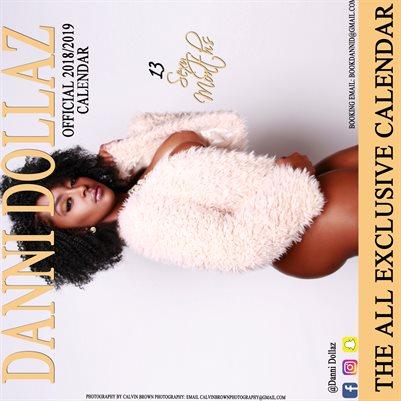 Danni Dollaz 2018-2019 Calendar