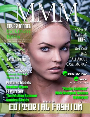 """May Monthly """"Open Editorial Fashion"""" Issue"""