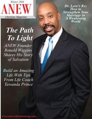 ANEW Christian Magazine - Winter 2016 Issue