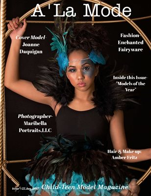 A'La Mode Child-Teen Model Magazine, Issue #22,