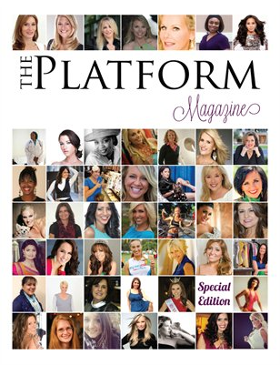 The Platform Magazine Special Edition 2014 Cover only