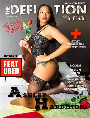 The Definition of Love Issue 2 (Ashley Hardimon Cover)