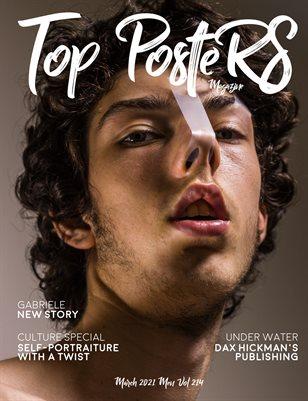 TOP POSTERS MAGAZINE - MARCH MEN (Vol 214)