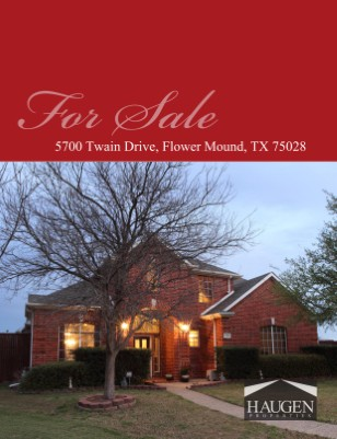 Haugen Properties - 5700 Twain Drive, Flower Mound Texas 75028