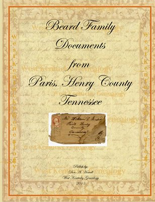 Beard Family Documents, Henry County, Tennessee
