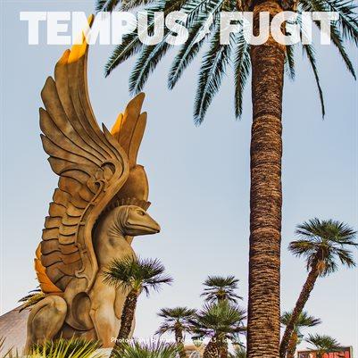 Tempus Fugit Project Manager Calendar 2021 Las Vegas