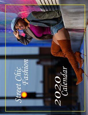 Street Chic fashion 2020 Calendar