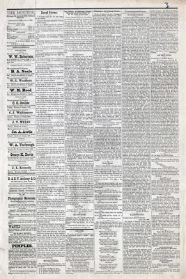 (PAGES 3-4) APRIL 24, 1880 MAYFIELD MONITOR NEWSPAPER