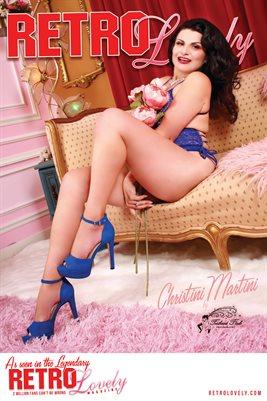 Christini Martini Cover Poster