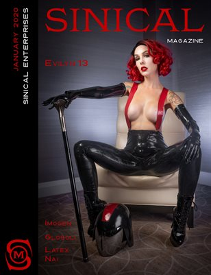 Sinical January 2020 Issue - Evilyn13 cover