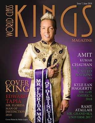 World Class Kings Magazine Issue 7 with Edward Tapia