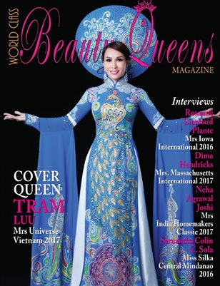 World Class Beauty Queens Magazine with Tram Luu