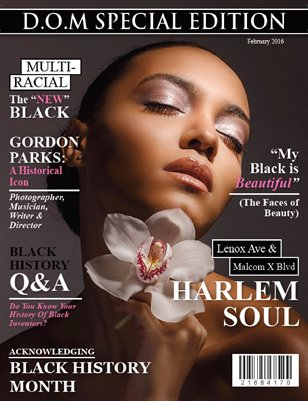Black History-Special Issue 2016