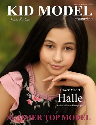 Kid Model Magazine Issue 10 Volume 8 2020 Summer Top Model