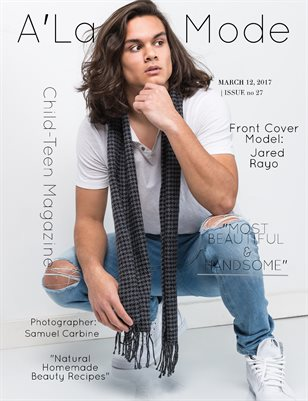 """A'La Mode Child-Teen Magazine Issue #27, """"Most Beautiful & Handsome Vol.1"""""""