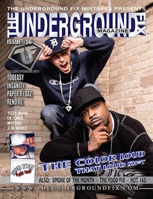 The Underground Fix Magazine Issue #56