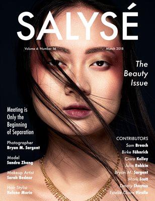 SALYSÉ Magazine | Vol 4 : No 16 | March 2018 |