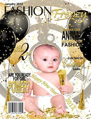 Fashion Frenzy Magazine - Jan 2012 Issue