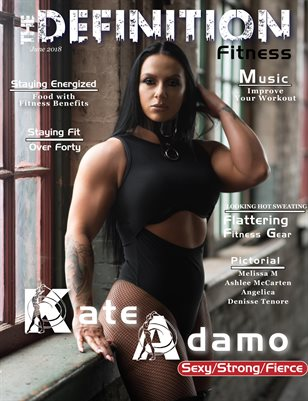 The Definition of Fitness: issue 2: Cover Katie Adamo