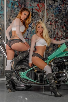 Brooklynn Nicole & Carly Ann Rose Poster