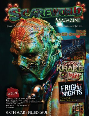 Scareworld - Issue 6 | Sixth Scare Filled Issue