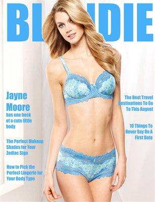 Blondie Magazine - August 2016 Issue