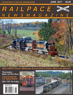JUNE 2017 Railpace Newsmagazine