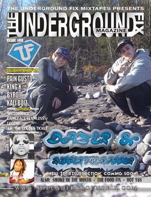 The Underground Fix Magazine Issue #68