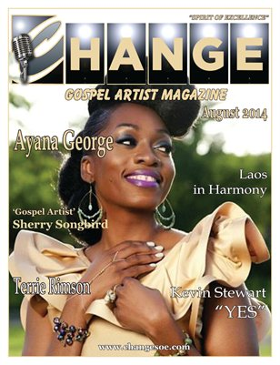 Change Gospel Artist Magazine August 2014
