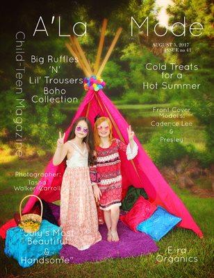 A'La Mode Child-Teen Magazine , Issue #41