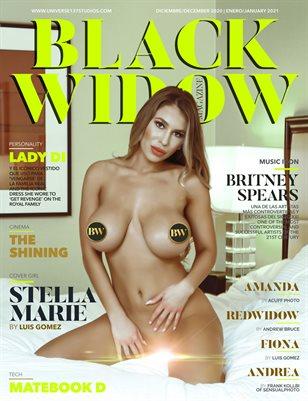 BLACK WIDOW MAGAZINE DECEMBER 2020- JANUARY 2021