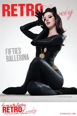 Fifties Ballerina Cover Poster RL 126